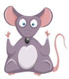 Rata de la historieta. Ratón. Fotografía de archivo libre de regalías