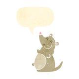 rata retra de la grasa de la historieta Fotografía de archivo libre de regalías
