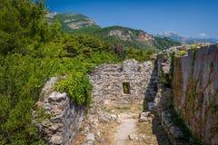 Ratac fort ruins. Royalty Free Stock Image