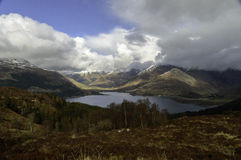 Ratagan Pass in Kintail Royalty Free Stock Images