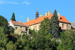 Rataje nad Sazavou. Chateau in Czech Republic Royalty Free Stock Photos