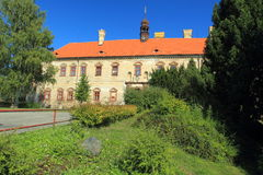 Rataje nad Sazavou chateau. Early baroque chateau in Rataje nad Sazavou, Czech Republic Stock Photography