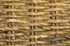 Ratan basket background Royalty Free Stock Image