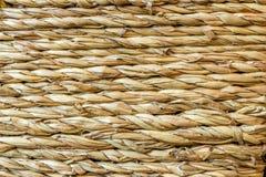Ratan texture horizontal Stock Image