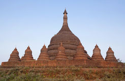 Ratanabon stupa in Mrauk U, Rakhine state of Myanmar Royalty Free Stock Photo