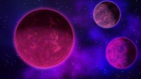 Ratating exoplanets. Loop.