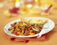 Ratatouille. Food, gastronomy, cuisine,cookery stock images