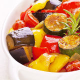 Ratatouille. Famous French dish from Provence royalty free stock image