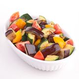 Ratatouille. Close up on cooked ratatouille stock photos