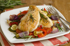 Ratatouille chicken Stock Images