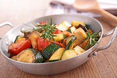 Ratatouille,cooked vegteables Stock Images