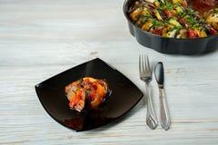 Ratatouille francês do prato Fotografia de Stock