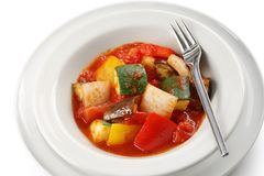 Ratatouille , french vegetable stew Stock Images