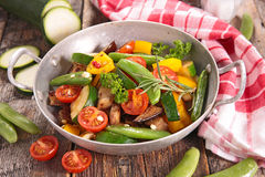 Ratatouille,fried vegetables Royalty Free Stock Image