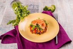 Ratatouille, gekookte groenten royalty-vrije stock fotografie