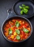 Ratatouille - Gemüseeintopfgericht Lizenzfreies Stockbild