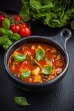 Ratatouille - Gemüseeintopfgericht Stockbilder