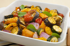 Ratatouille Oven Baked Roast Stock Photography