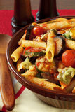 Ratatouille Pasta Bake Royalty Free Stock Images