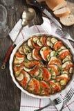 Ratatouille. Sławny Francuski naczynie od Provence. zdjęcia stock