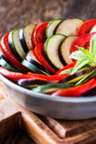 Ratatouille, stewed vegetable dish Royalty Free Stock Photography