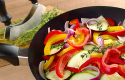 Ratatouille with Thyme Royalty Free Stock Images