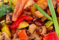 Ratatouille van groenten Stock Fotografie