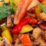 Ratatouille van groenten Stock Foto's