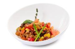 Ratatouille van groenten Stock Afbeelding