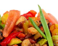 Ratatouille van groenten Royalty-vrije Stock Foto's