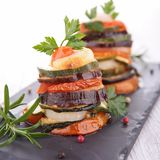 Ratatouille, vegetable baked, tian Stock Photo
