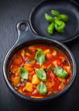 Ratatouille - vegetable stew Royalty Free Stock Image