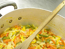 Ratatouille of vegetables 2 stock photos