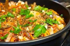 Ratatouille, vegetal quente Imagem de Stock Royalty Free