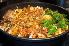 Ratatouille, vegetal quente Fotografia de Stock