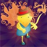 Ratbird del carácter de la fantasía Imagen de archivo libre de regalías