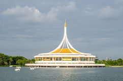 Ratchamangkala Pavilion in The Suan Luang RAMA IX public park, B Royalty Free Stock Images