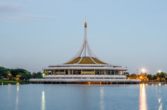 Ratchamangkala Pavilion in The Suan Luang RAMA IX public park, B Royalty Free Stock Photo