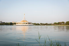 Ratchamangkhala Pavilion of Suan Luang Rama 9. Public Park at Bangkok of Thailand Stock Images