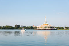 Ratchamangkhala Pavilion of Suan Luang Rama 9. Public Park at Bangkok of Thailand Royalty Free Stock Photography