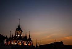Ratchanadda temple - Bangkok Stock Photography