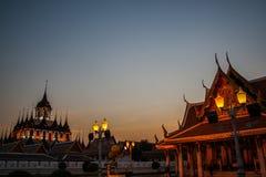 Ratchanadda temple - Bangkok Stock Photo
