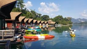 Ratchaprapa水坝(Chaew Lan水坝) 库存图片