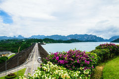 Ratchaprapa Dam3 Fotografia Stock