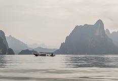 Ratchaprapa Dam (Chaew Lan Dam) Stock Photo
