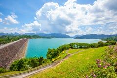 Ratchaprapa Dam Chaew Lan Dam Surat Thani Thailand.  Stock Image