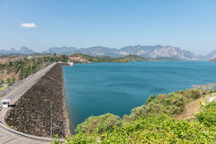 Ratchaprapa dam , Khao sok , Surat Thani province,Thailand Stock Photos