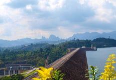 The Ratchaprapa dam Stock Photo