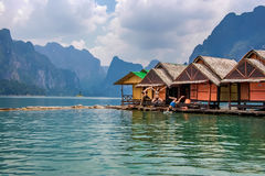 Ratchaprapa Dam, Thailand Stock Images