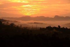 Ratchaprapa-Verdammung Suratthani, Thailand. Lizenzfreies Stockfoto